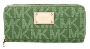 Michael Kors Michael Monogram Continental Wallet - BROWN - STYLE