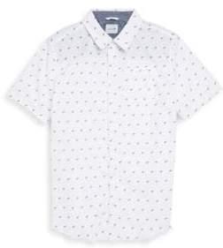 Joe's Jeans Boy's Aitor Shprt Sleeve Printed Shirt