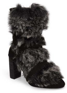 Charles by Charles David Women's Alberta Faux Fur Boot