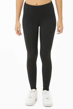 Black Active Solid Leggings