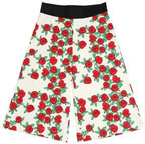 Mini Rodini Roses Organic Cotton Jersey Pants