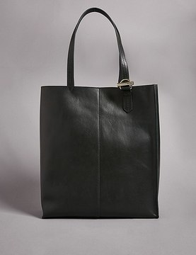 Marks and Spencer Leather Shopper Bag