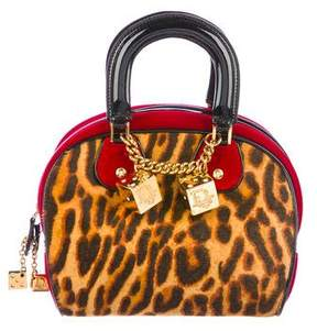 Christian Dior Ponyhair Gambler Bag