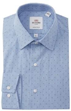 Ben Sherman Clip Spot Tailored Slim Fit Dress Shirt