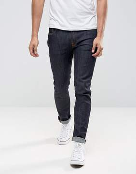 Nudie Jeans Ecru Embro Thin Finn Slim Fit Jeans in Organic Dry