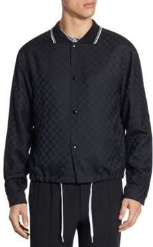 Alexander Wang Checkerboard Embossed Wool Jacket