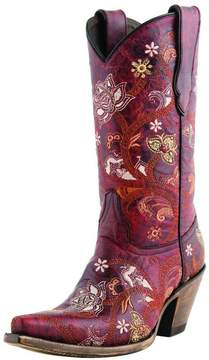 Lucchese Gardenia Floral Boot