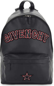 Givenchy Embroidered leather backpack
