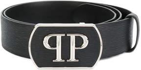 Philipp Plein monogram buckle belt