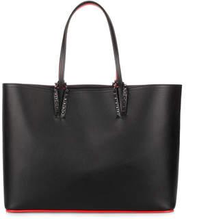 Christian Louboutin Cabata black leather tote bag