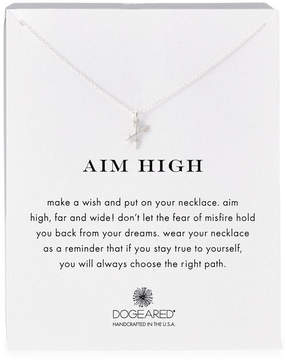 Dogeared Aim High Crossing Arrows Necklace