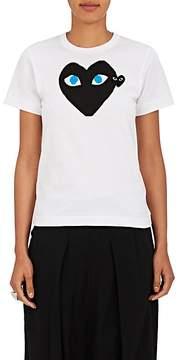 Comme des Garcons Women's Heart Cotton Jersey T-Shirt