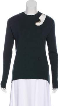Esteban Cortazar Virgin Wool & Silk-Blend Sweater