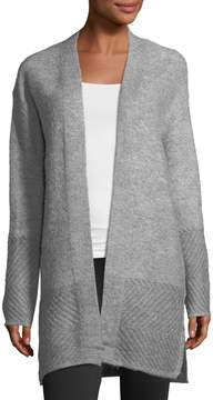 Joan Vass Cozy-Knit Duster Cardigan
