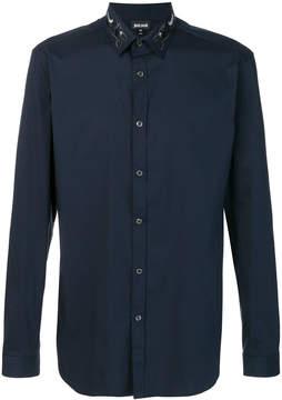 Just Cavalli embroidered collar shirt