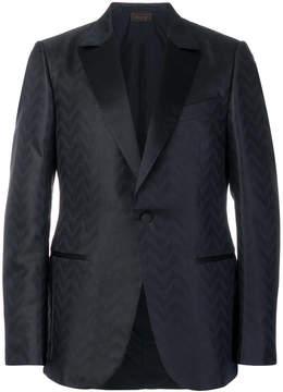 Ermenegildo Zegna patterned suit jacket