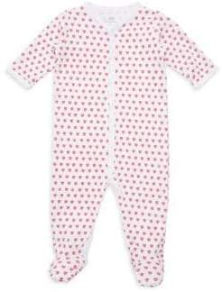 Roberta Roller Rabbit Baby Girl's Hearts Cotton Footie