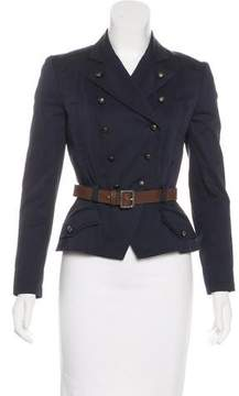 Christian Dior Double-Breasted Belted Blazer w/ Tags