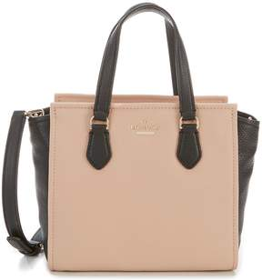 Kate Spade Jackson Street Small Hayden Colorblock Pebbled Leather Satchel