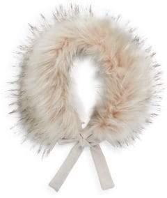 Imoga Toddler's, Little Girl's & Girl's Hope Faux Fur Collar
