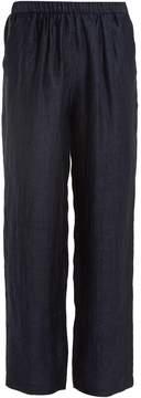 Masscob Elasticated-waist linen-blend trousers