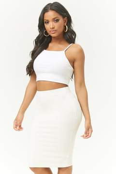 Forever 21 Ribbed Skirt