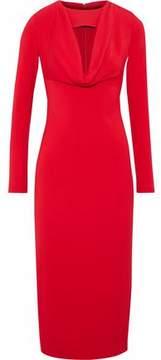Cushnie et Ochs Cutout Jersey Midi Dress