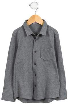 Il Gufo Boys' Button-Up Shirt