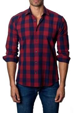 Jared Lang Plaid Trim Fit Shirt