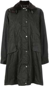 Barbour mid-length wax jacket