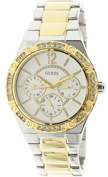 GUESS U0845L5 Silver Stainless-Steel Japanese Quartz Fashion Watch