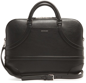 Alexander McQueen Essential leather briefcase
