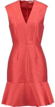 Carven Fluted Twill Mini Dress