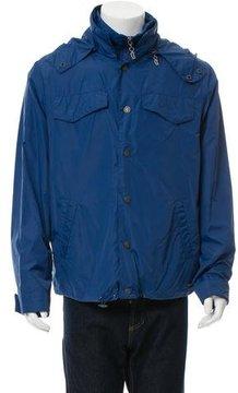 Galliano Hooded Rain Jacket w/ Tags