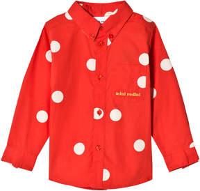 Mini Rodini Red Dot Woven Shirt