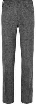 Prada Slim-Fit Virgin Wool-Tweed Trousers