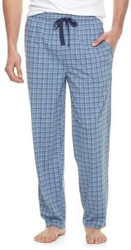 Chaps Big & Tall Plaid Knit Sleep Pants