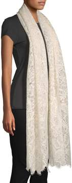 Valentino Women's Floral Lace Shawl