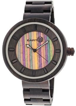 Earth Root Collection ETHEW2506 Unisex Wood Watch with Wood Bracelet-Style Band