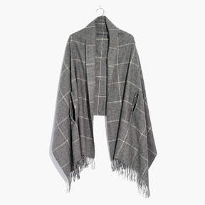Madewell Micro-Check Cape Scarf