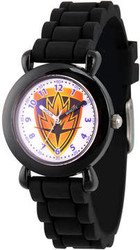 Marvel Guardian Of The Galaxy Boys Black Strap Watch-Wma000145