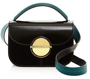Marni Color Block Mini Leather Satchel