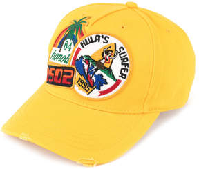 DSQUARED2 Hawaii patch cap