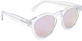 Illesteva Limited Editon Leonard Mirrored Sunglasses