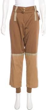 Pinko Colorblock High-Rise Pants