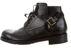 Dolce & Gabbana Cap-Toe Ankle Boots