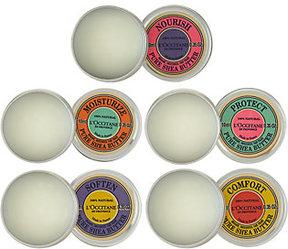 L'Occitane Pure Shea Set of 5 Gift Tins