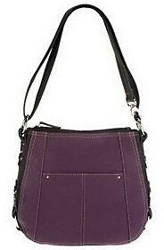 Tignanello As Is Pebble Leather Convertible Crossbody Bag
