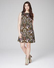 Alice & You Glamorous Printed Shift Dress
