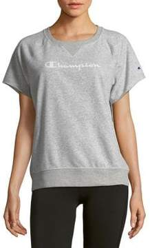 Champion Raglan-Sleeve Graphic Tee